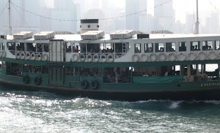 Star Ferry - Queen Victoria harbor - Hong Kong