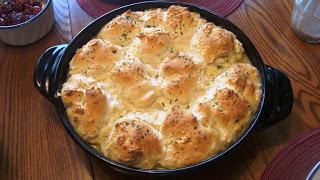 Chicken Pot Pie in Braiser