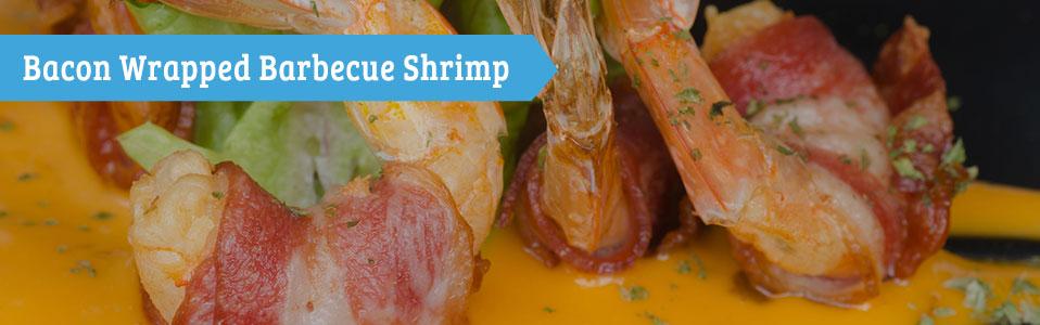 Backon Wrapped Barbecue Shrimp