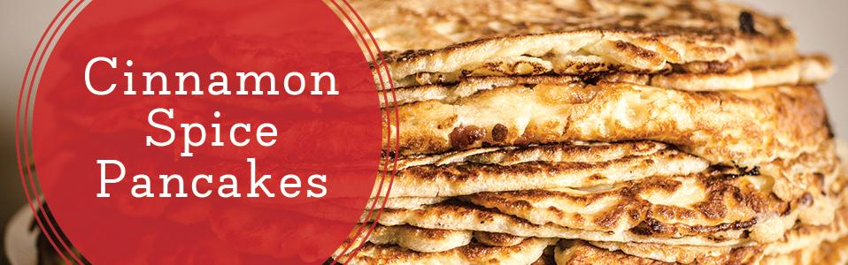 Cinnamon Spice Pancakes Recipe