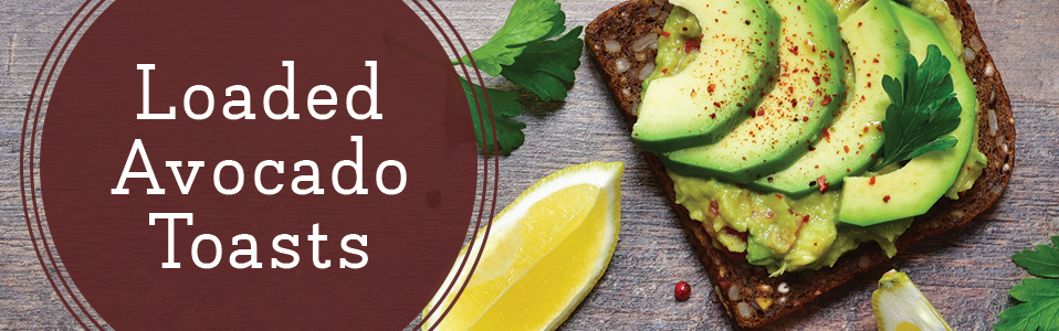 Healthy Breakfast - Loaded Avocado Toast