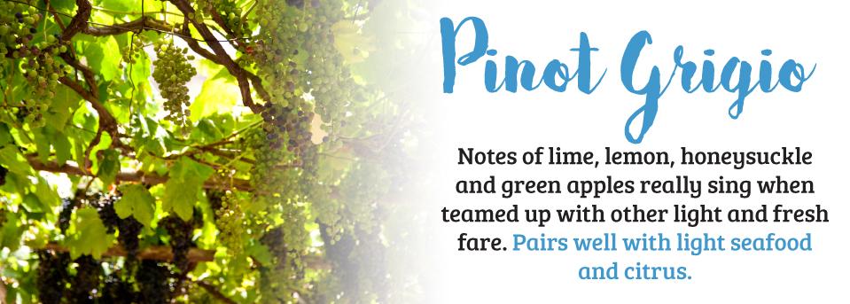 Pinot Grigio Wine Pairings