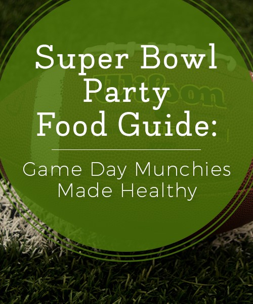 Your guide to healthy Superbowl game-day food alternatives.
