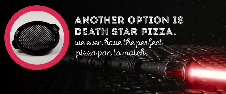 Star Wars Party Food Ideas - Death Star Pizza