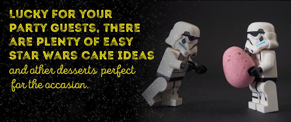 Star Wars Party Desserts