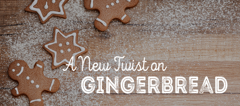 Put a new twist on classic gingerbread cookies.