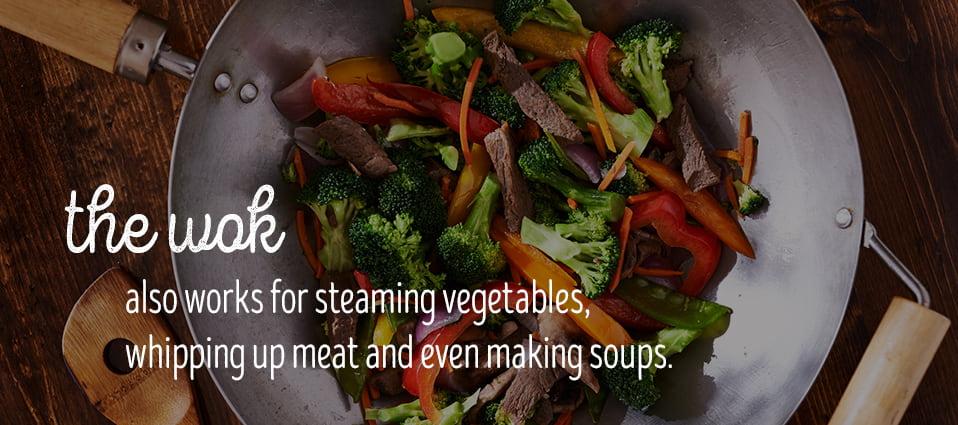 wok uses are versatile